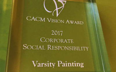 CACM award for Corporate Social Responsibility